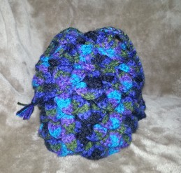 dragon scale bag closed