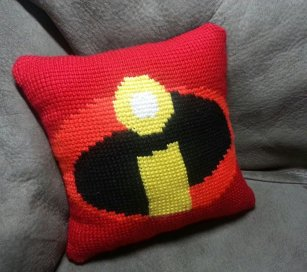 incredibles pillow